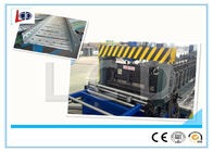Auto Adjustable Cable Tray Making Machine , Cold Roll Forming Machine With Double Uncoiler